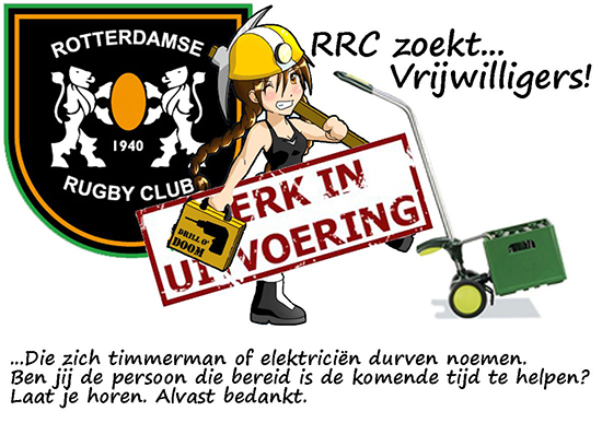Verbouwing Clubhuis « Rotterdamse Rugby Club