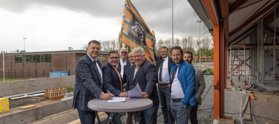 Rugby Topsport Rotterdam nieuwe sponsor van de Rotterdamse Rugby Club